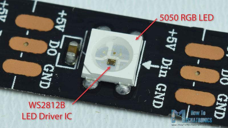WS2812B LED Driver IC 5050 RGB LED