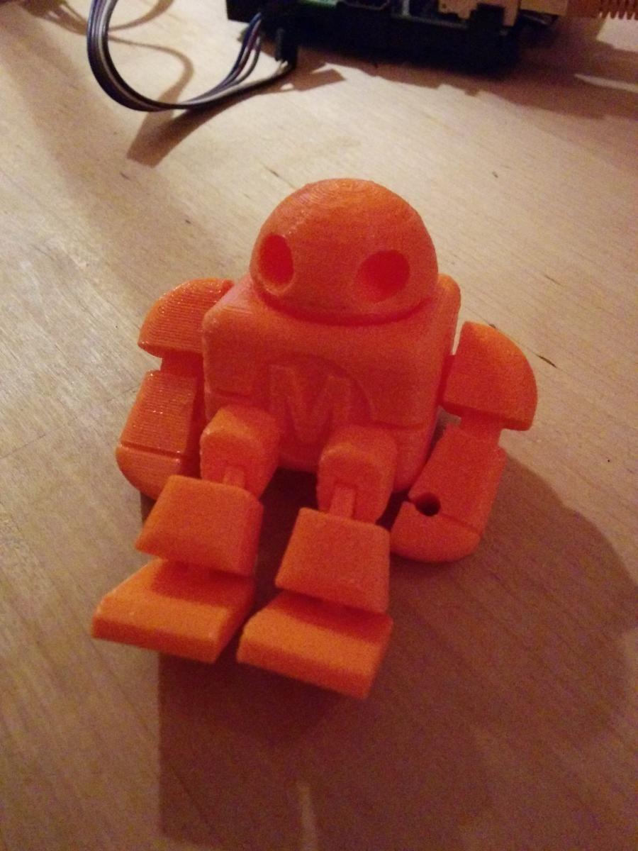Maker Faire Robot Action Figure