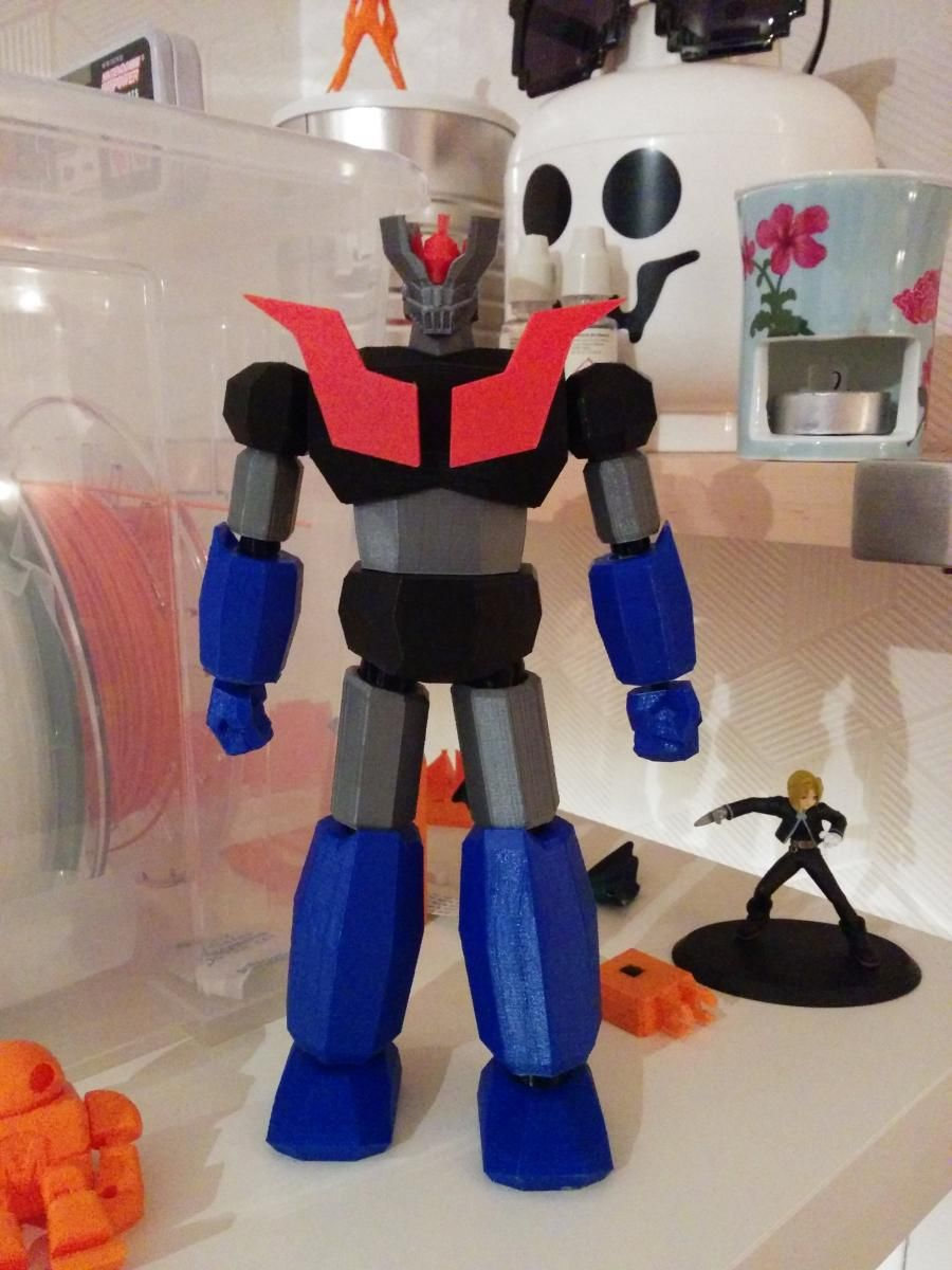 Low Poly Mazinger Z