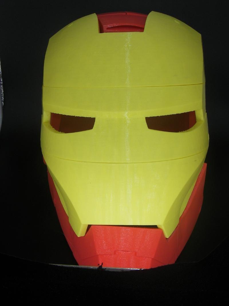 Casque Iron Man
