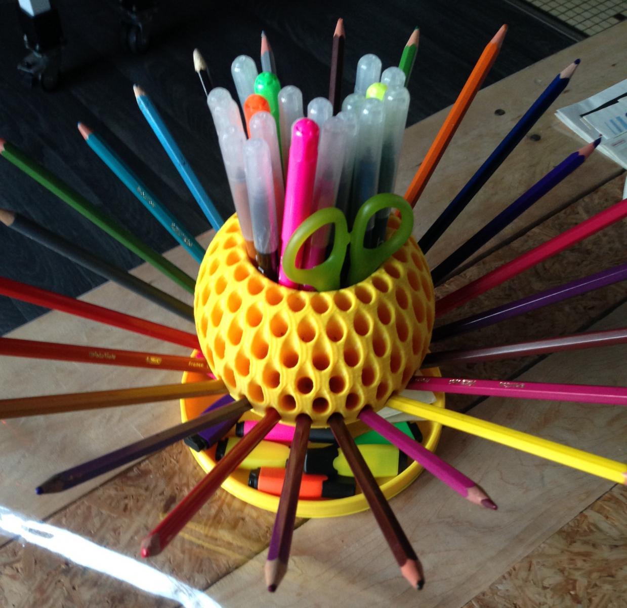 Hérisson à crayons