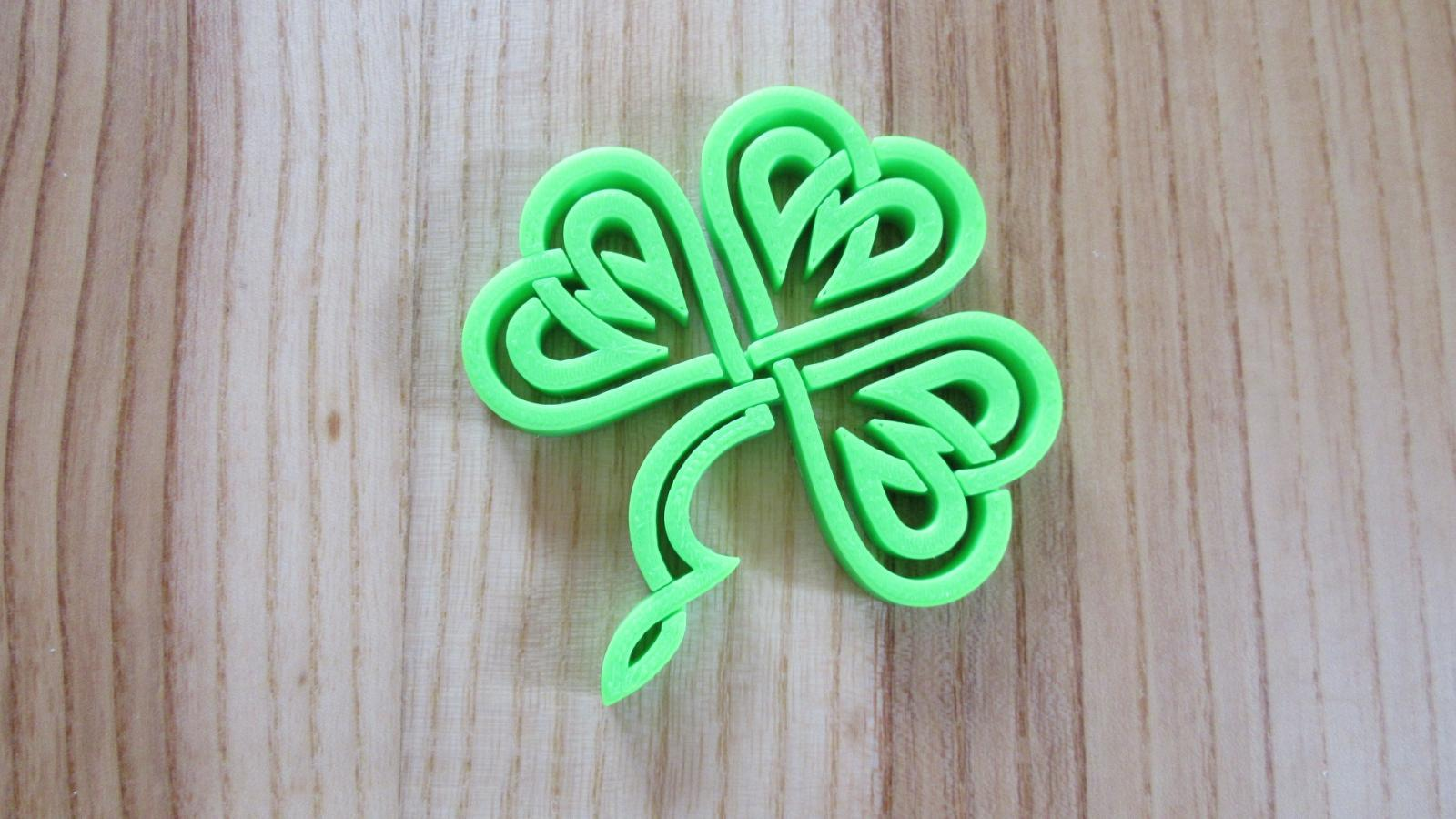 Trefle celtique