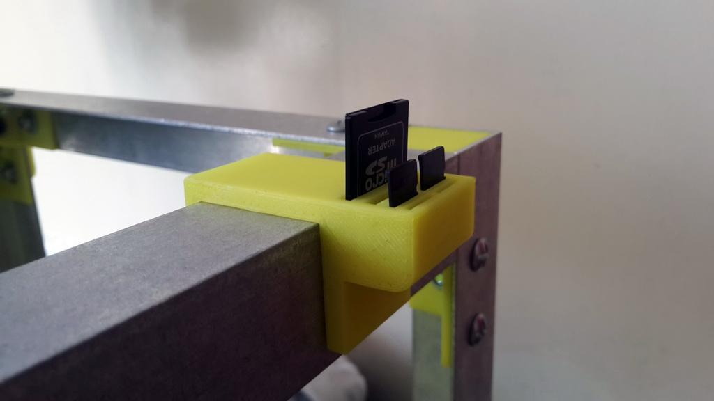 Porte cartes SD et Micro SD pour SmartCub3D