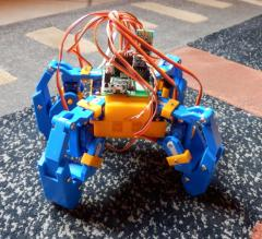 robot 8 servos arduino