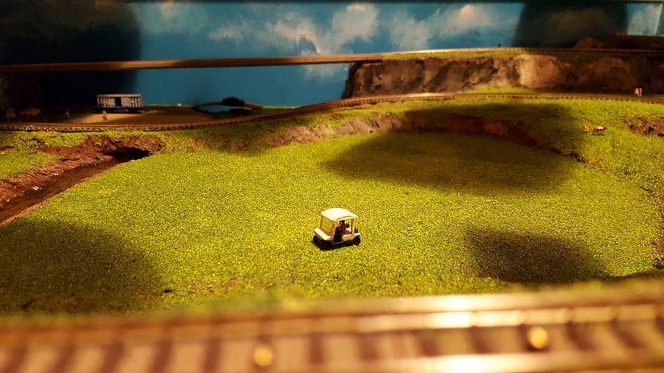 Golfette à l'échelle N