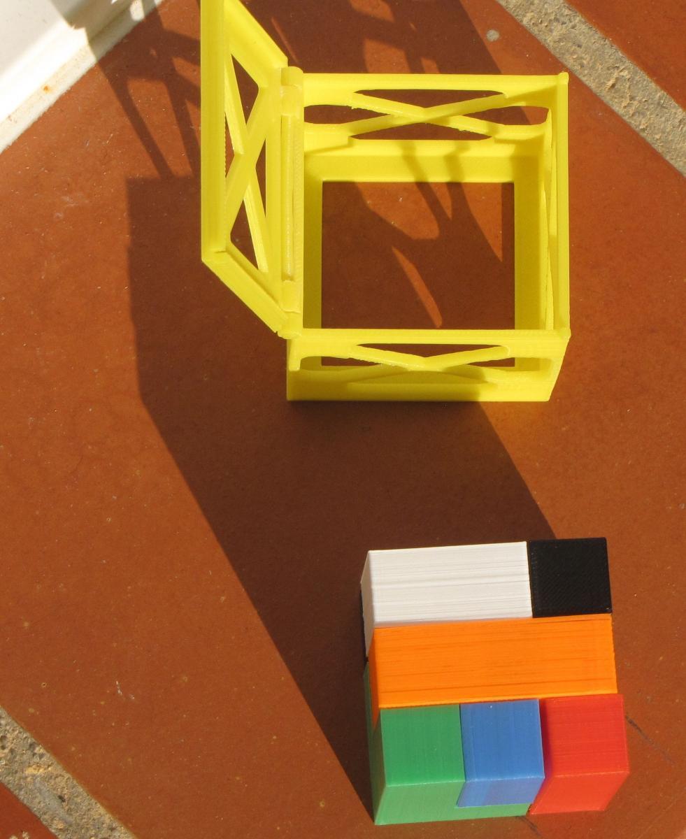 Boite pour le puzzle en 3D