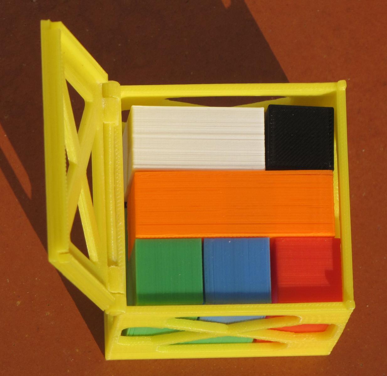 Puzzle dans la boite