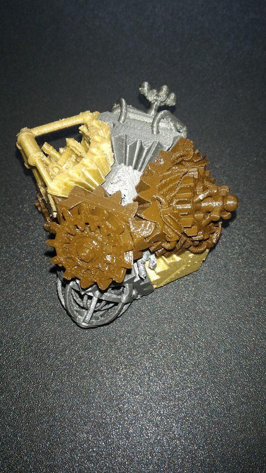 Cube Steampunk rotatif