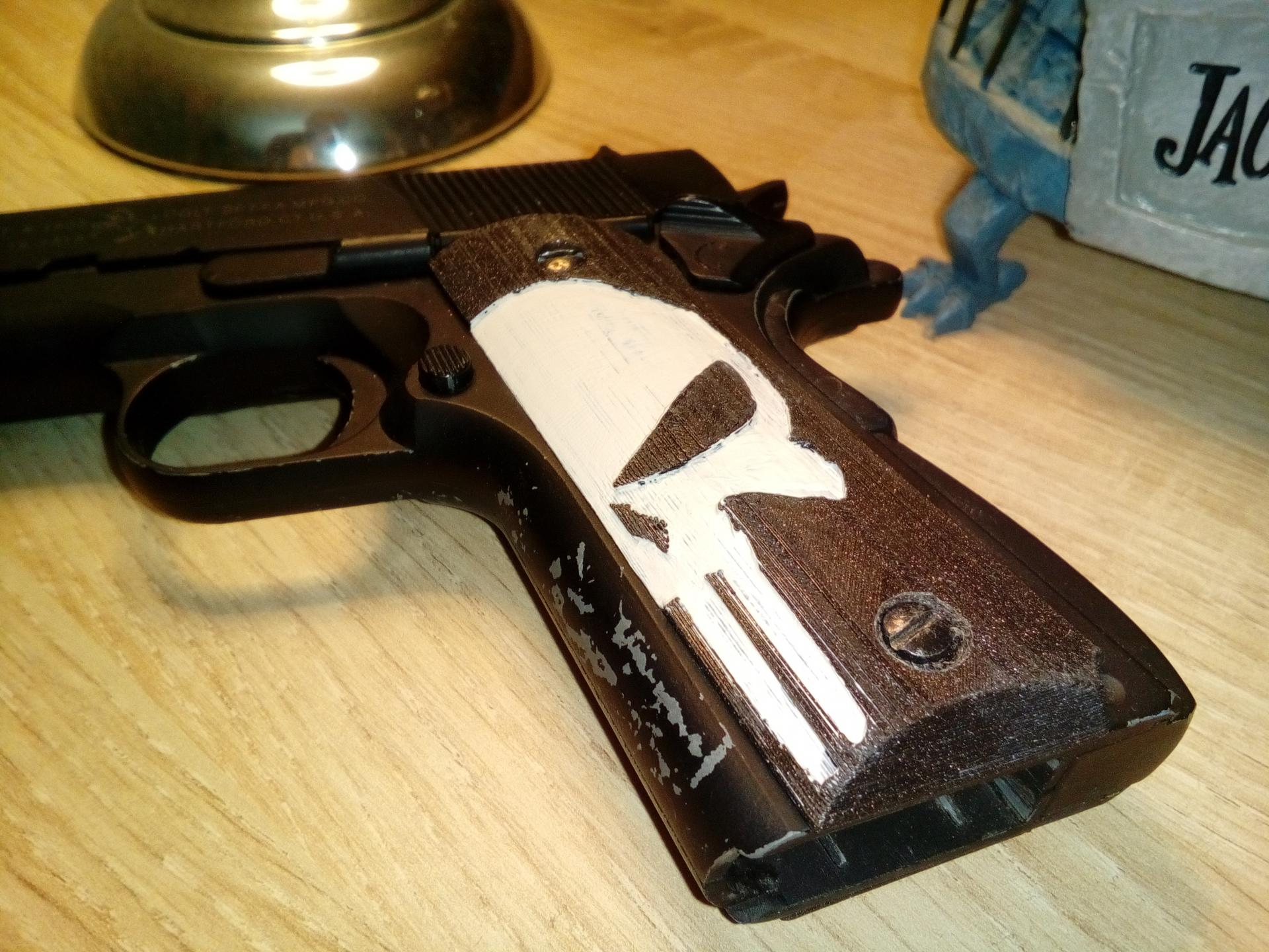 Plaquettes 1911 Punisher
