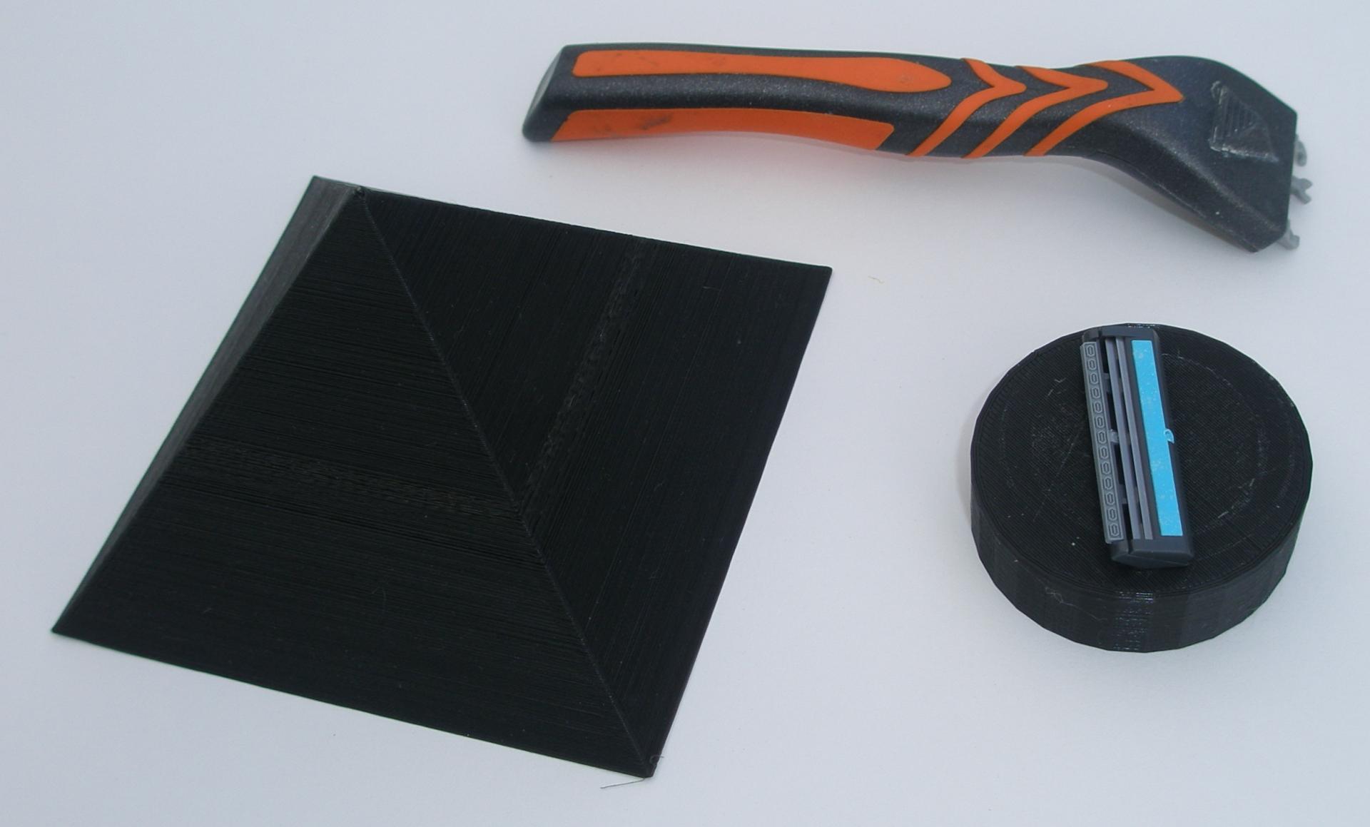 Pyramid for sharpening razor blades-.JPG