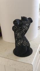 Buste de Femme en voronoi :