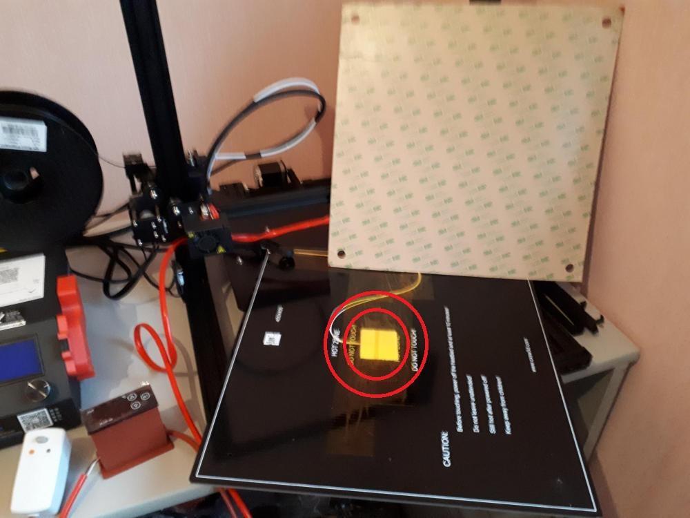 """16/"""" X 16/"""" 400 x 400 mm Thermistance multisensoriels CR-10 S4 Imprimante 3D Lit 4 trous Heater"""