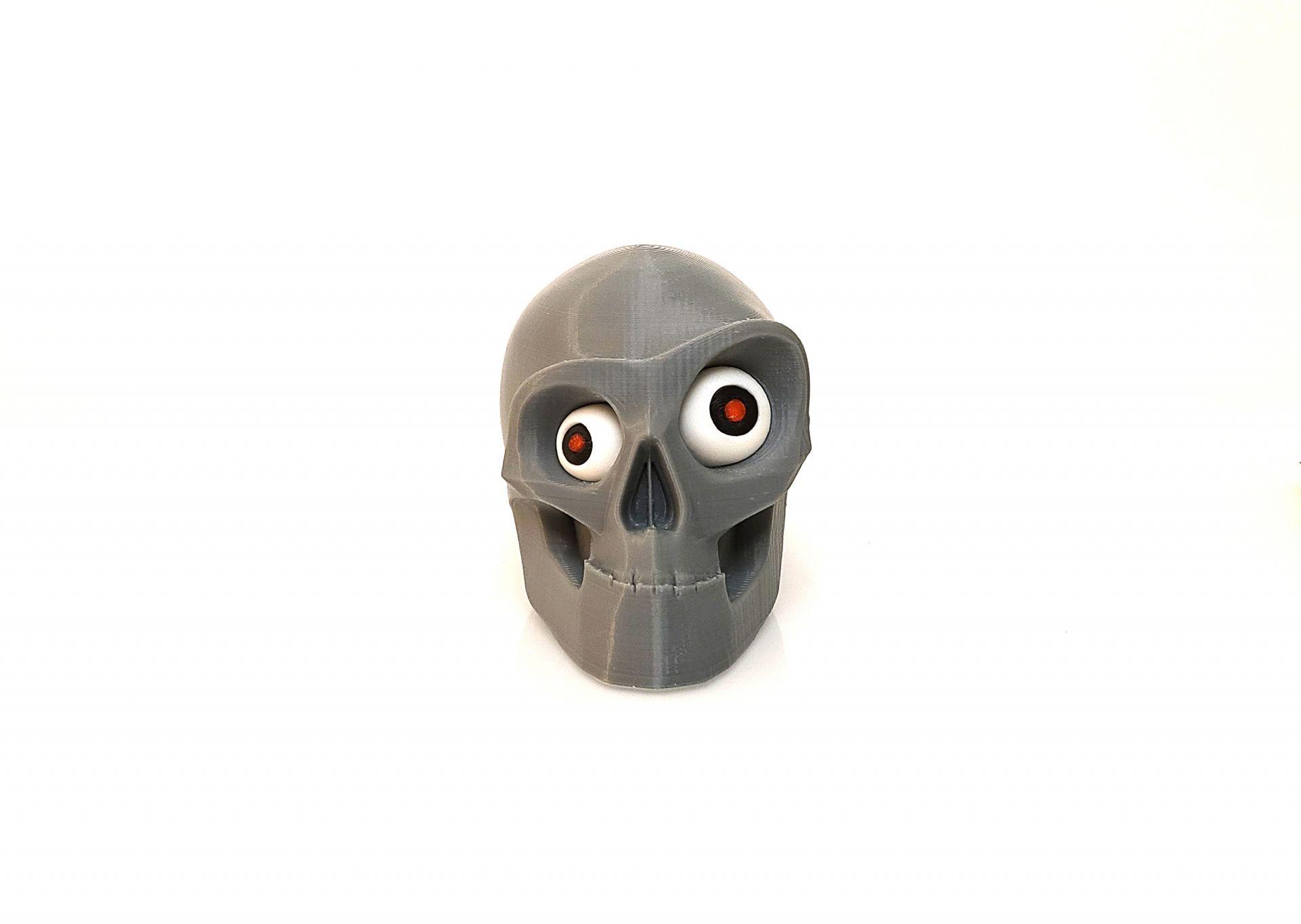 Halloween Skull Multi-Material 2020 2