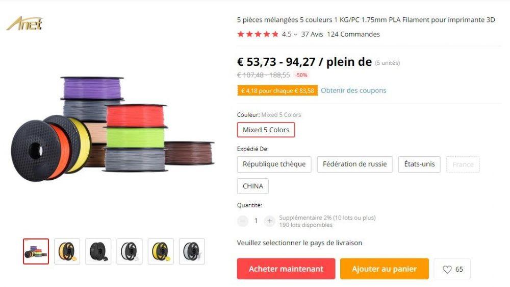 2021-01-08 08_43_20-5 pièces mélangées 5 couleurs 1 KG_PC 1.75mm PLA Filament pour imprimante 3D _ A.jpg