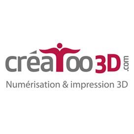 Creatoo3d les imprimantes 3d fr for Salon impression 3d