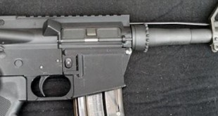 photo arme a feu fusil AR15 3D gun M4 M16