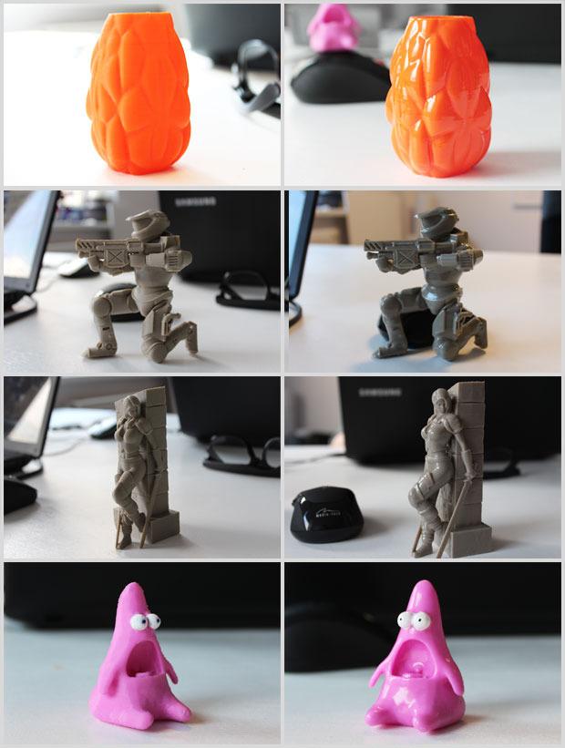Figurines Zortrax