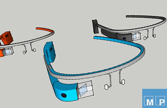 plan google glass sketchup
