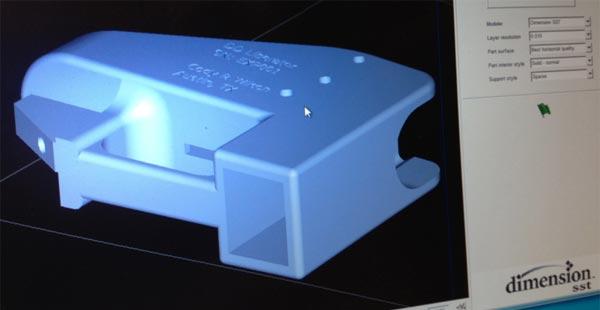 fichier plan modelisation 3D pistolet Liberator