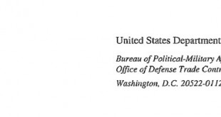 letter united states department of state