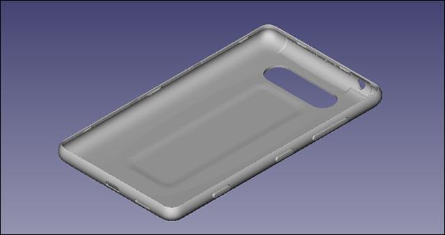 Nokia fichier STL STP plan pour imprimer coque smartphone