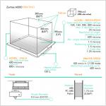 Zortrax M200 caractéristiques d'impression