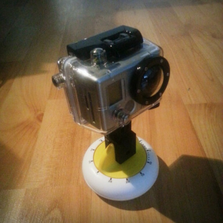Ikea timer support GoPro timelapse