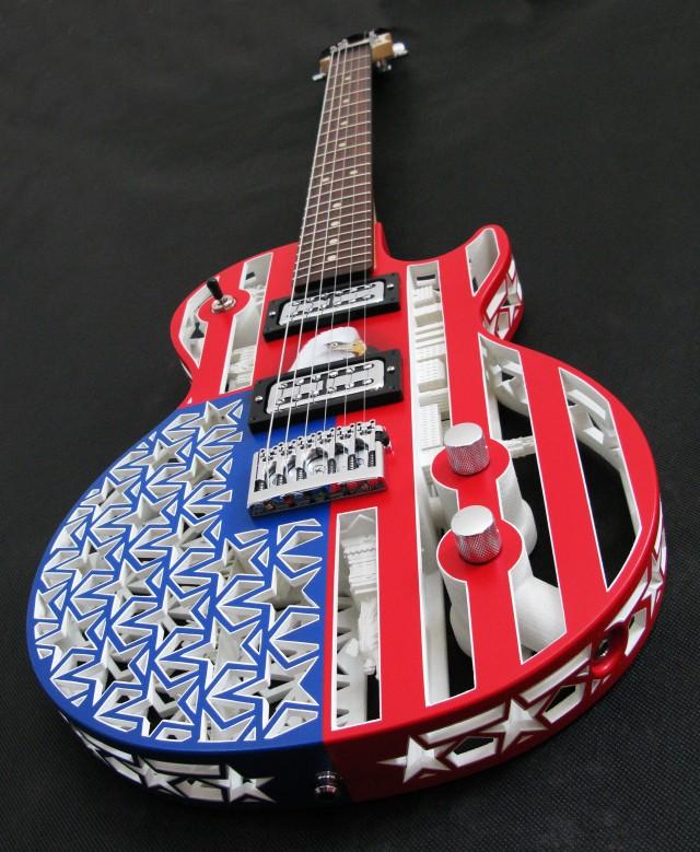 Guitare ODD America imprimée en 3D