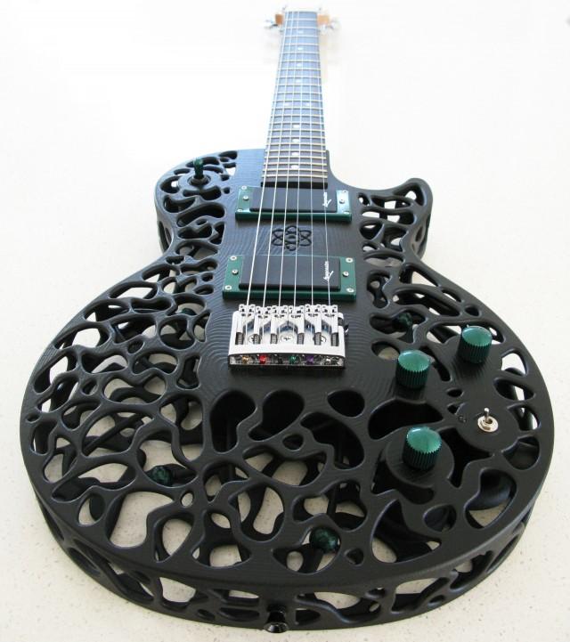 Guitare ODD Atom imprimée en 3D