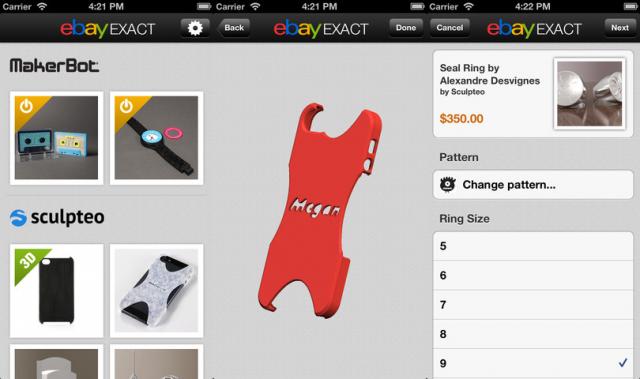 Démo Ebay Exact iOS