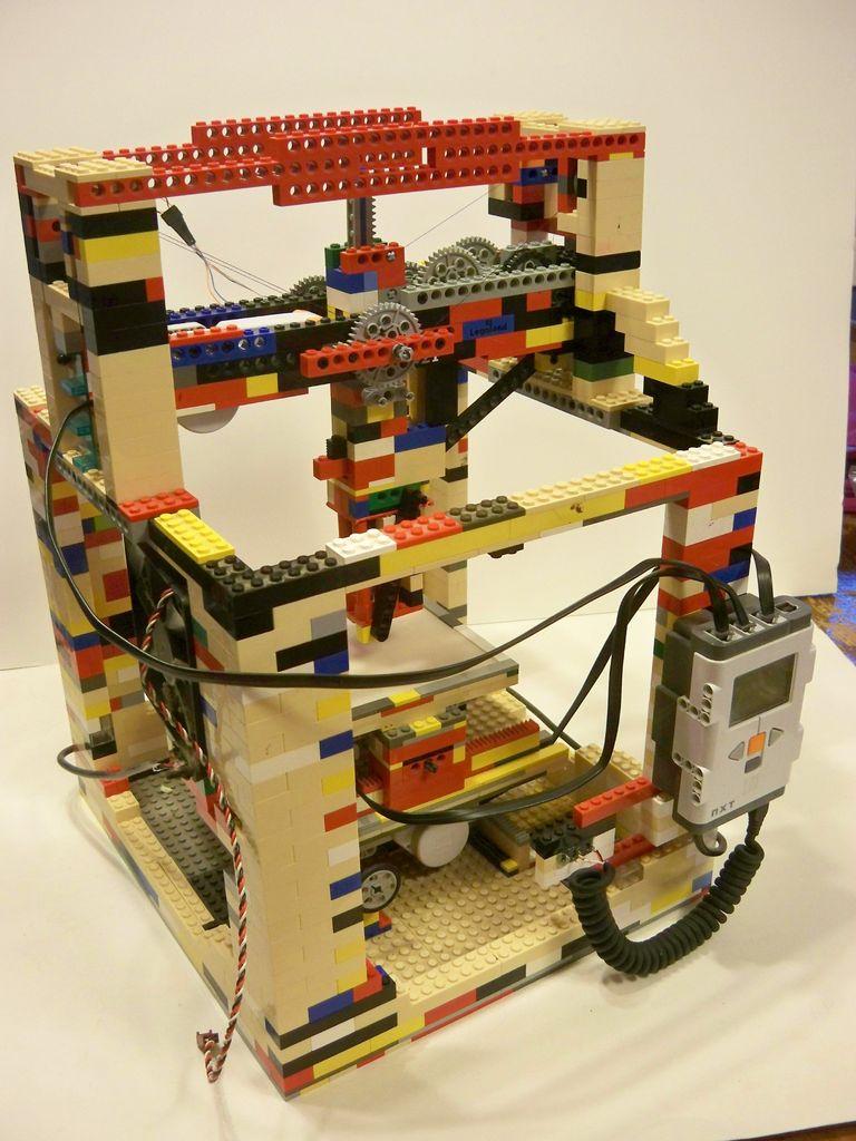 legobot imprimante 3d en lego. Black Bedroom Furniture Sets. Home Design Ideas