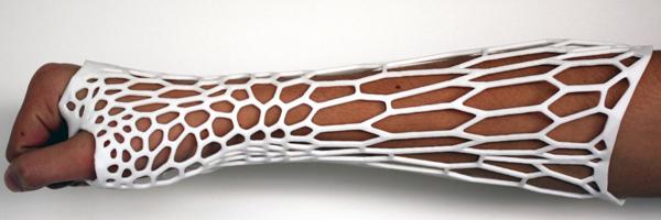 Plâtre imprimée en 3D