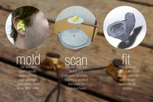 Processus de conception des écouteurs Accord
