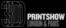 3DPrintshow logo reversed colors