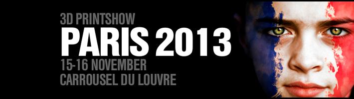 3d printshow paris 2013 logo
