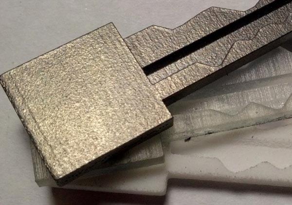 clé Schlage Primus key 3d copy