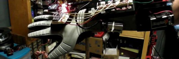 bras robotique imprimé en 3D