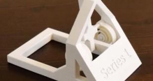 jouet catapulte imprimee en 3D plastique
