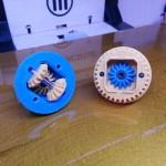 Pièces de différentiel imprimées en 3D