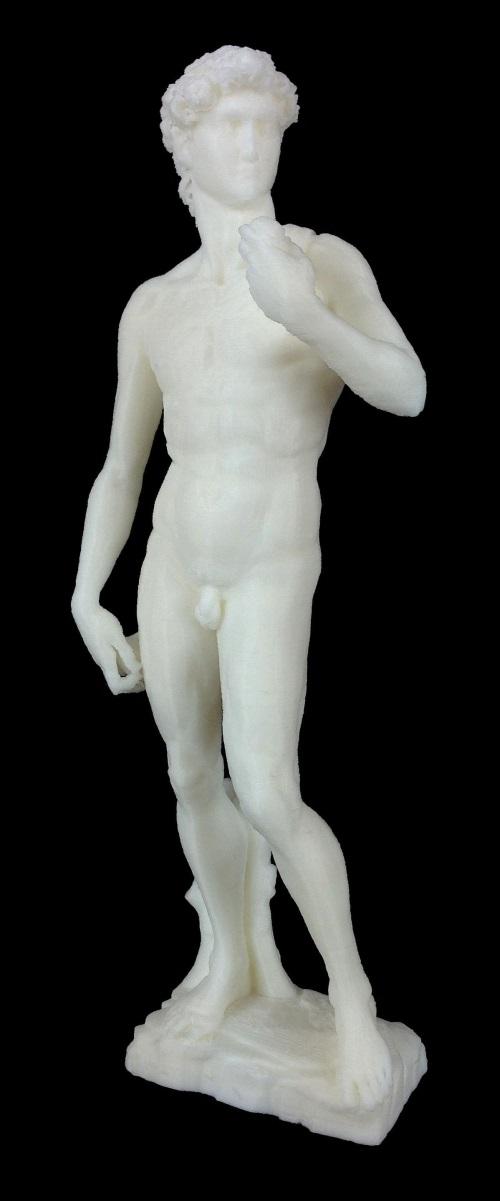 Statue nue imprimée avec une Isis One