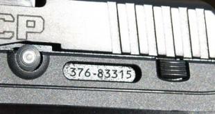 Pistolet RUGER traçable
