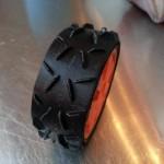 Pneus cross imprimés en 3D