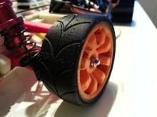 Pneus route imprimés en 3D