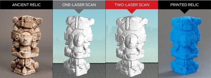 Relique scannée en 3D