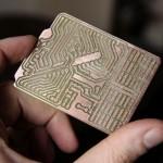 Circuit imprimé fabriqué avec le FABtotum