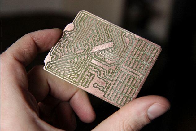 Fabtotum le constructeur personnel - Nettoyer circuit imprime ...
