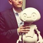 Jimmy le petit robot Intel et son créateur