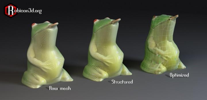 Numérisation d'une grenouille avec le scanner 3D Rubicon
