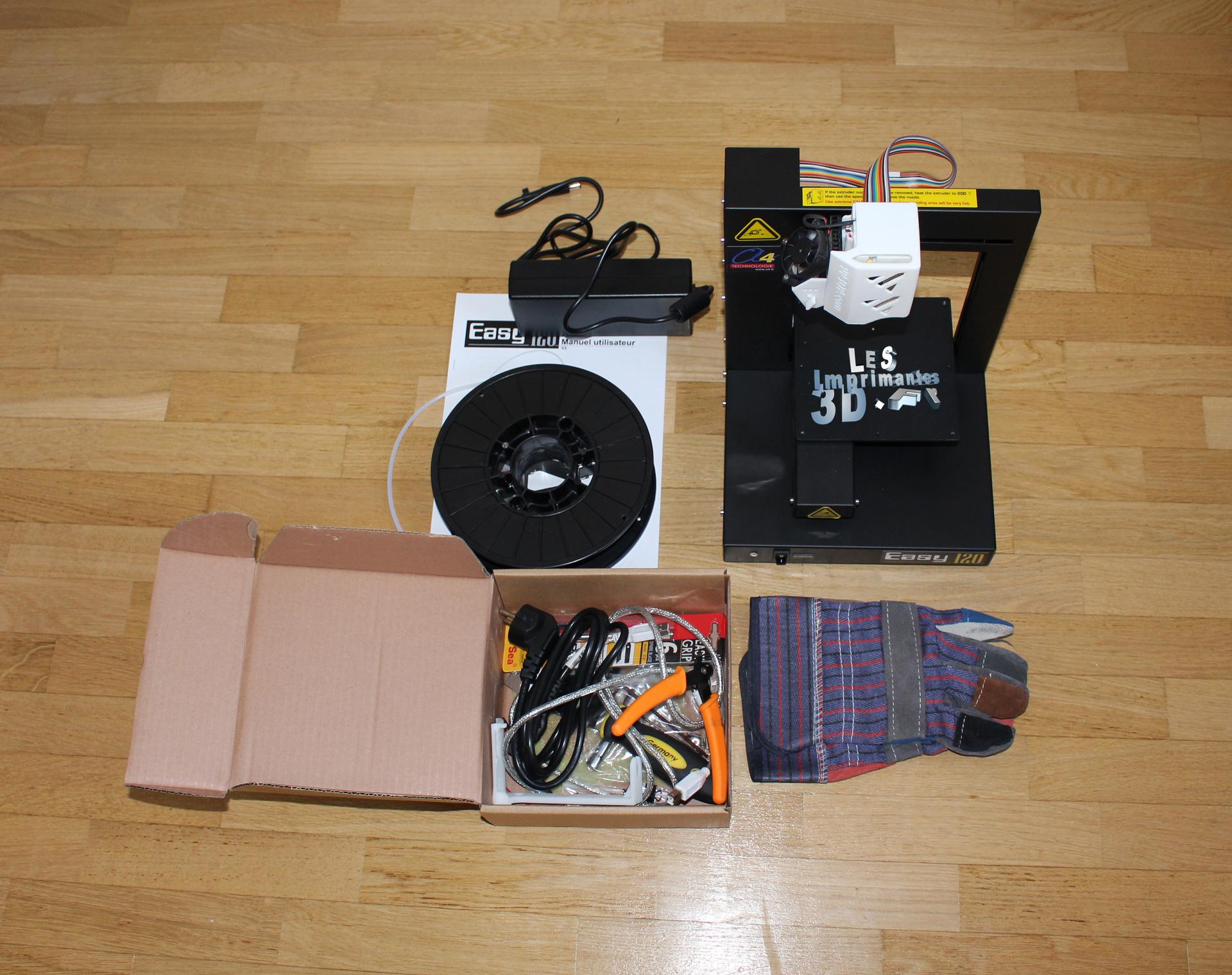test et avis sur l 39 imprimante 3d up easy 120. Black Bedroom Furniture Sets. Home Design Ideas