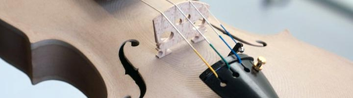 photo violon imprime en bois imprimante 3D
